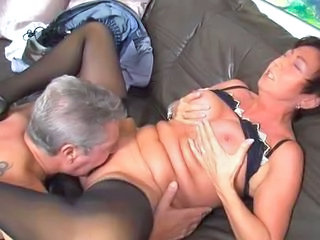 Older Mature Licking Mature Stockings Stockings