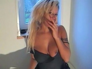 Smoking German  German Milf