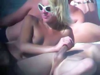 Beach Blowjob Glasses Beach Sex Public