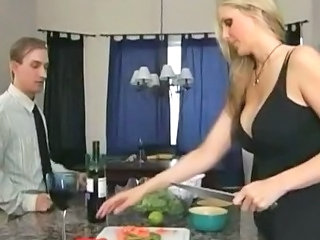 Kitchen Big Tits MILF Big Tits Milf Big Tits Wife Cheating Wife