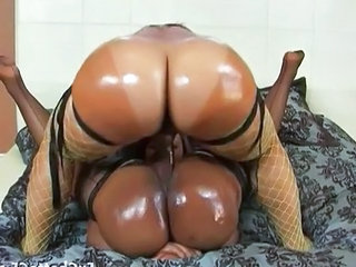 Ass Ebony Fishnet Ebony Ass Fishnet Lesbian Strapon