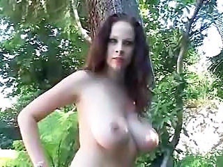 Creampie Outdoor Big Tits Big Tits Outdoor Surprise