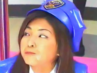 Swallow Office Uniform Asian Cumshot Police