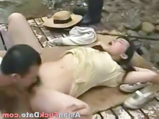 Chinese Asian Licking Asian Teen Chinese Outdoor