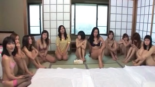 Japanese Asian Groupsex Orgy