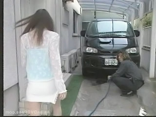 Skirt Car Asian