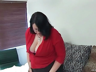 Mature Amateur BBW Bbw Amateur Bbw Mature Glasses Mature