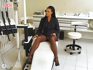 Doctor Upskirt  Milf Stockings Stockings Upskirt