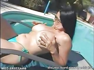 Busty Milf gets a big cock at...