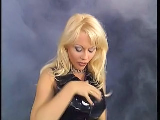 Latex Blonde MILF