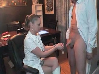 Nurse Handjob Uniform Handjob Teen Sperm Teen Handjob