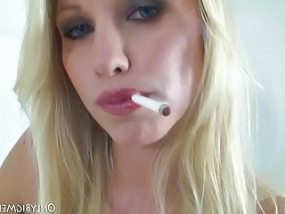 Blonde Facial Natural Smoking Blonde Facial Blonde Teen
