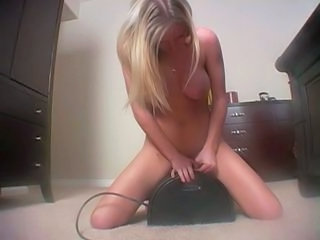 Girl Riding a sybian...