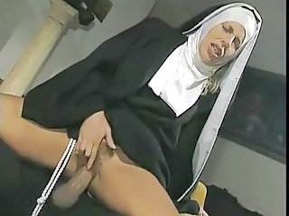 Nun Clothed Double Penetration Hardcore