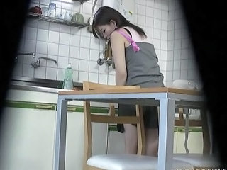 Asian Kitchen Sister Kitchen Sex Sister