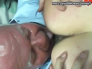 Daddy  Licking Daddy Grandpa Old And Young
