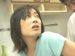 Kitchen Clothed Asian Japanese Milf Milf Asian