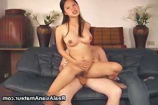 Asian Whore Anal Fucked While Riding Her Part3