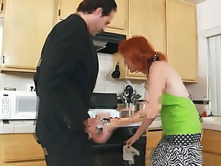 Kitchen Redhead Mature Hardcore Mature Kitchen Mature Kitchen Sex