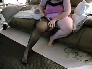 Homemade Stockings Wife Bbw Amateur Bbw Wife Homemade Wife