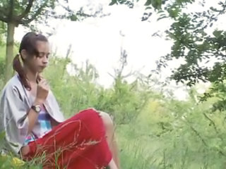 Russian Outdoor Solo Outdoor Outdoor Teen Russian Teen