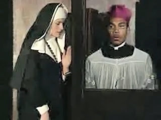 Nun in Confession...