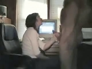 Young amateur blowjob on webc...