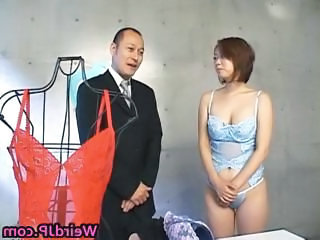 Asian babe gets her juicy tits squeezed part1
