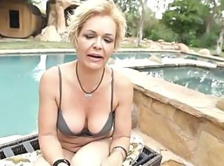 Pool Outdoor Lingerie Dirty Milf Lingerie Outdoor