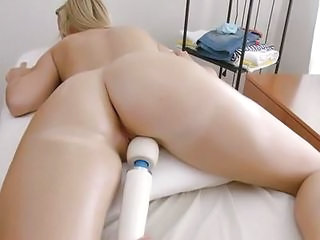 Tall European Blonde Hailey Massage Fuck...