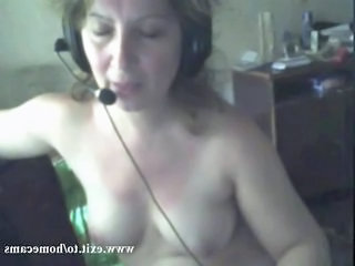 Alone at home, hubby working Watching a webcam friend wanking his big cock makes me fucking horny I start fingering myself till I cum cam contact