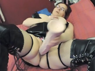 Dildo Latex Toy Bbw Amateur Bbw Masturb Bbw Mature