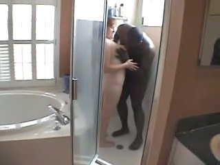 Bathroom Cuckold Interracial