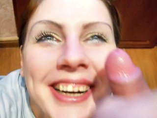 russian amateur facial budu 3