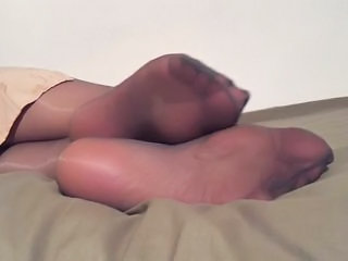 Pantyhose Feet Fetish Nylon Pantyhose