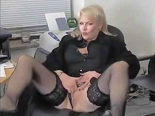 Mature Office Secretary Mature Stockings Stockings