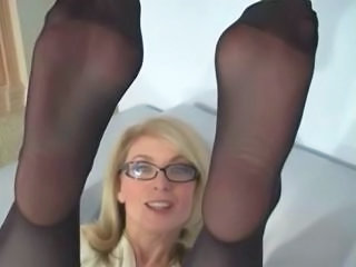 Pantyhose Glasses MILF Milf Ass Milf Pantyhose