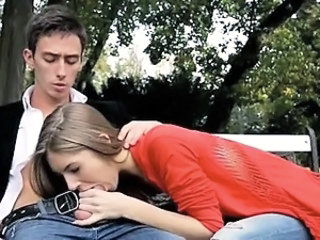 Clothed Blowjob Outdoor Blowjob Teen Outdoor Outdoor Teen
