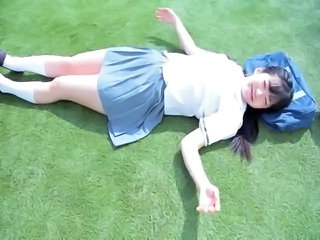 Student Skirt Outdoor Asian Teen Japanese Teen Outdoor