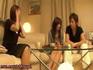 Family Japanese Asian Asian Mature Daughter Daughter Mom