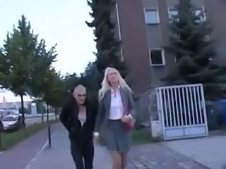 Public German Secretary German Milf Outdoor Public