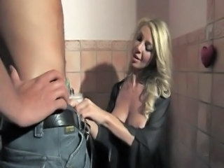 Showers German Blonde German Milf