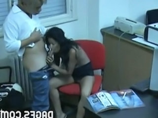 Blowjob HiddenCam Latina Caught
