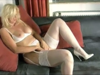 Mature Blonde Lingerie Masturbating Mature Masturbating Mom Mature Masturbating