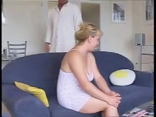 German Chubby Wife And Salesman