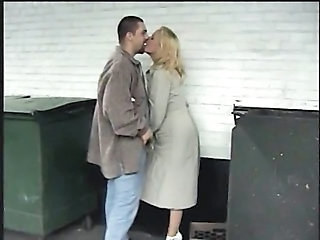 Public MILF Kissing Caught Public