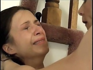 Brunette gets haunted and humiliated for sexual pleasure