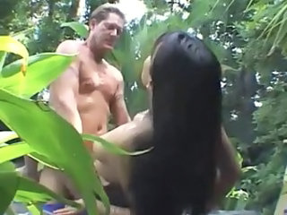Asian Hardcore Interracial Outdoor