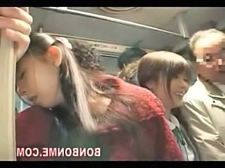 milf and her daughter fucked by geek on bus 03