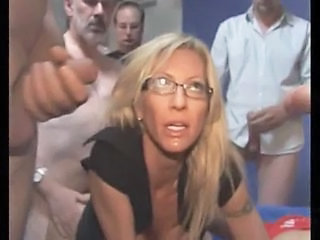 Gangbang Glasses  Milf Ass